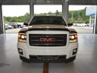 Options:  2014 Gmc Sierra 1500 Slt|White|Here At The
