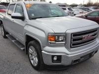 Quicksilver Metallic 2014 GMC Sierra 1500 SLT 4WD