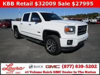 Summit White 2014 GMC Sierra 1500 SLT 4WD 6-Speed