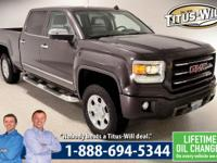 2014 GMC Sierra 1500, Iridium Metallic, SLT. 6-Speed