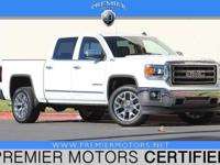 Options:  2014 Gmc Sierra 1500 Slt|White|5.3L