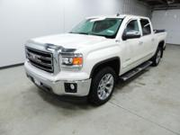 Options:  2014 Gmc Sierra 1500 Slt|White|6-Speed