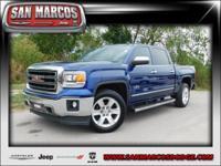 Options:  2014 Gmc Sierra 1500 Slt|Blue/|V8 5.3L