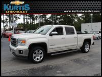 Local Trade and One Owner. Sierra 1500 SLT, 4WD, and