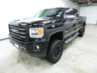 Options:  2014 Gmc Sierra 1500 Slt|Black|6-Speed