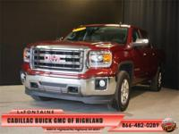 2014 GMC Sierra 1500 SLT in Sonoma Red Metallic, GM