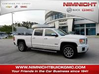 GMC Certified, Excellent Condition, LOW MILES - 42,005!