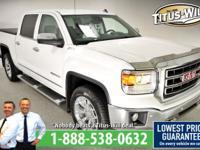 Recent Arrival! New Price!2014 GMC Sierra 1500 White,