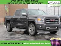 CarFax 1-Owner, This 2014 GMC Sierra 1500 SLT will sell