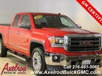 ** GM CERTIFIED ** GMC SIERRA 1500 DOUBLE CAB Z71 SLT