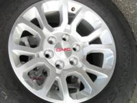 new 2014 GMC Sierra / Yukon wheels & tires to fit the