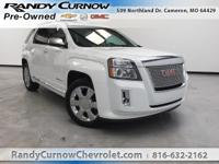 Options:  2014 Gmc Terrain Denali|Summit White|Jet