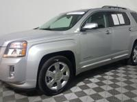 Certified. This 2014 GMC Terrain in Quicksilver