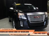 2014 GMC Terrain Denali in Onyx Black, GM Certified,