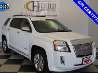 Options:  2014 Gmc Terrain Denali|White|Carfax