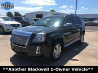 Black 2014 GMC Terrain Denali FWD 6-Speed Automatic