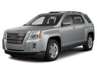 Take command of the road in the 2014 GMC Terrain!