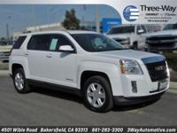 Options:  2014 Gmc Terrain Sle-1|White|New Price!