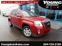 GM CERTIFIED!! Terrain SLE-2! 32 MPG HIGHWAY!! 2.4L