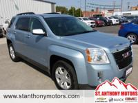 This 2014 GMC Terrain  has a 3.6 liter V6 Cylinder