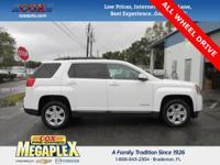 This 2014 GMC Terrain SLT-1 in White is well equipped