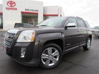 Heated leather seats and moonroof!! This 2014 GMC