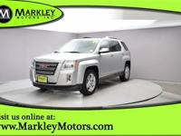 Our handsome Silver 2014 GMC Terrain SLT-2 FWD proves a