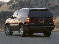 Options:  Denali Package| 3.42 Rear Axle Ratio| 20 X