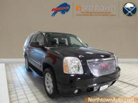 Clean CARFAX 2014 GMC Yukon Denali finished in black