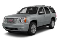 2014 GMC Yukon Summit White    Could this be the