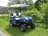 FANTASTIC OPPORTUNITY TO OWN THIS BEAUTIFUL GOLF CART