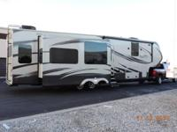 2014 Grand Design Solitude M-379 FL and Chevrolet