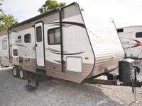 Very great, gently utilized bunkhouse travel trailer.