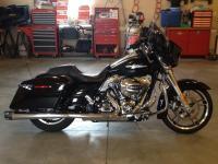 2014 Harley Davidson street glide, under 3000 miles,