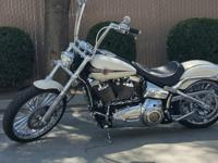 Low Mileage of 2915 Miles Chrome Swing Arm Chrome Front