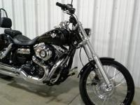 2014 Harley Davidson Vivid Black Dyna WideGlide with a