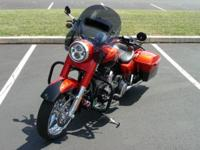 2014 Harley Davidson FLHRSE Road King CVO. I am the