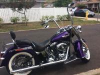 2014 Harley Davidson FLSTN Softail Deluxe. Make Harley