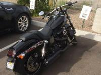 2014 Harley Davidson FXDF Fat Bob 103. Garage kept just