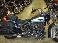 The Harley Heritage Softail Classic model features a