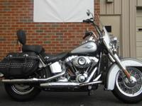 Super Clean Heritage Softail! No major scuffs or