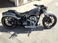 2014 Harley Davidson Softail Breakout Hard Kandy Chrome