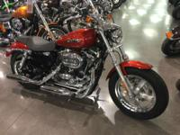 2014 Harley-Davidson Sportster 1200 Custom LIKE NEW!