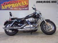 2014 Harley Davidson Sportster 1200c motorcycle for