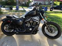 2014 Harley-Davidson Sportster 883 IRON The bike has