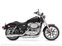 The Harley SuperLow design functions: Sportster tank