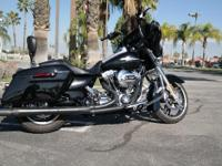 The 2014 Street Glide has actually revamped saddlebags