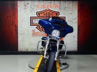 The 2014 Street Glide FLHX motorcycle features the new