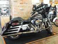 The 2014 H-D Street Glide Special bike includes the