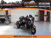 the 2014 Harley-Davidson Trike motorcycles provide you